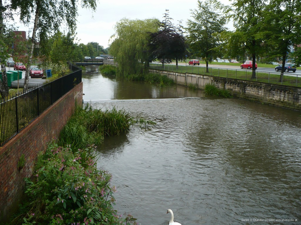 The Skerne between central Darlington and the Ring Road