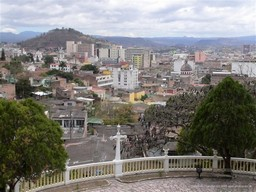 Central Tegucigalpa from History Museum