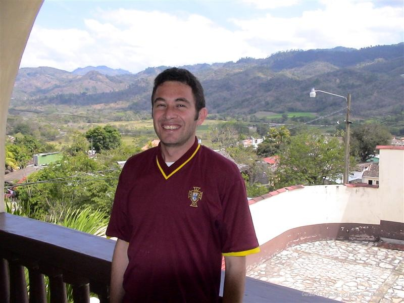Owner of Bella Vista Hotel, Copan Ruinas