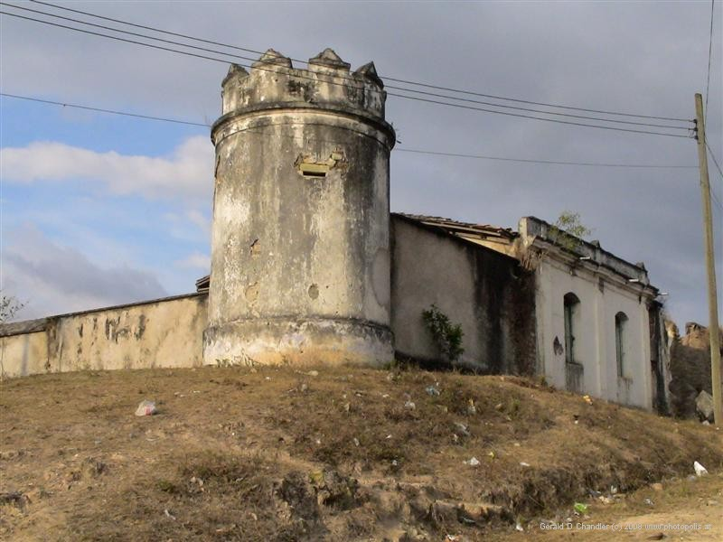 Former Jail-Fortress, now abandoned