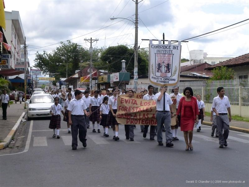 Students Marching for the Environment, David, Panama