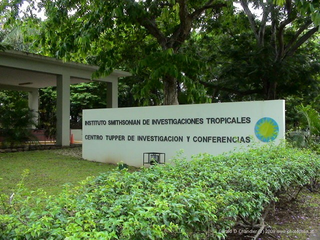 Entrance to Smithsonian Tropical Research Institute