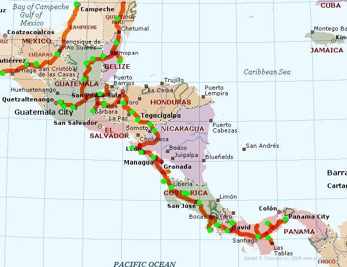 Central American Route