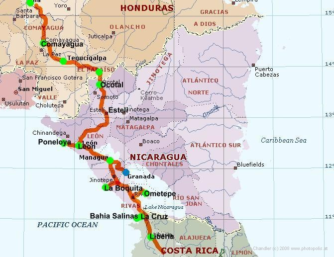 Nicaragua Route