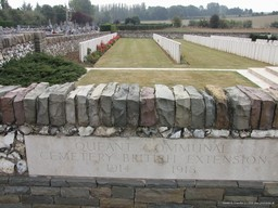 WWI Cemetery, Queant