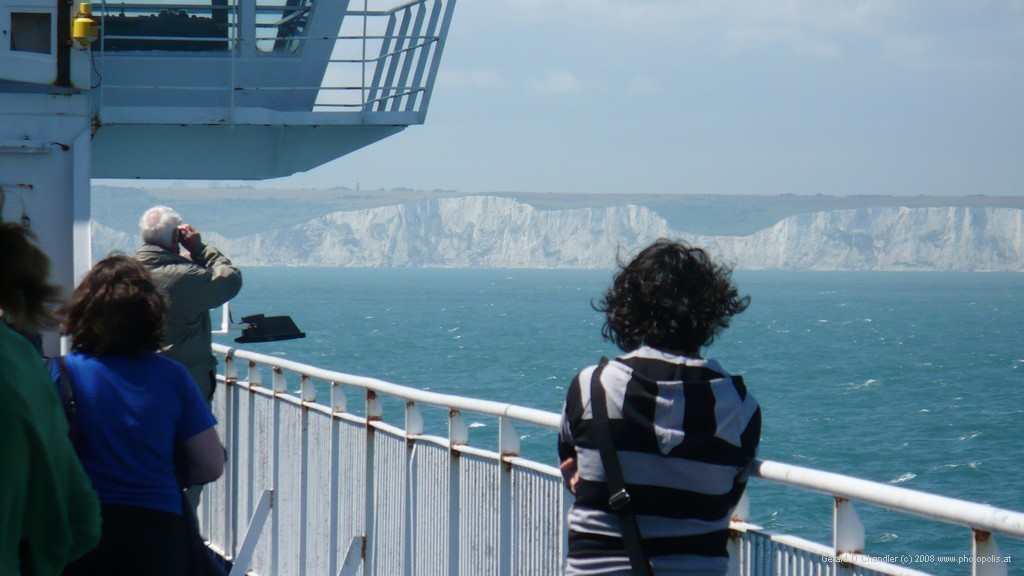 Sighting the White Cliffs of Dover