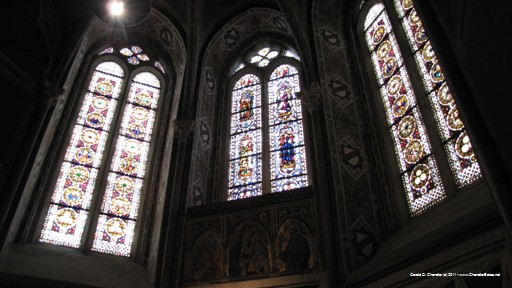 Basilica of San Francesco windows