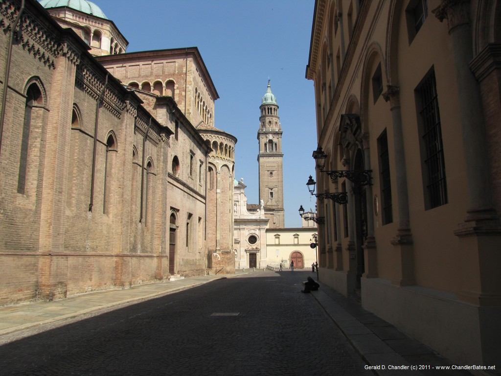Parma Cathedral and San Giovanni Tower