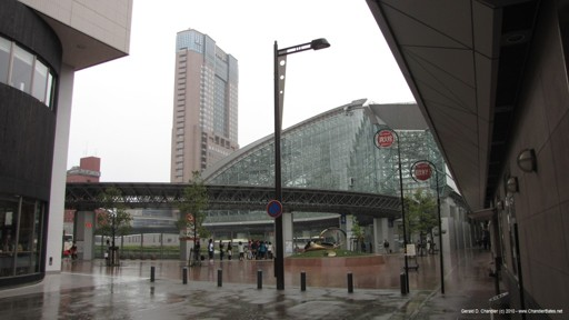 Another view of Kanazawa Station