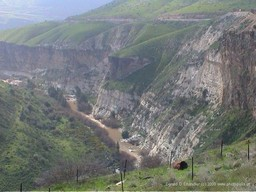Yarmuk Valley Gorge, Golan