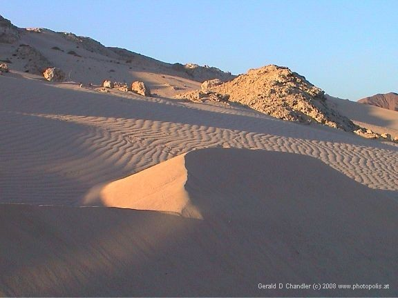 Sand Dunes between Ras Mohamed and Sharm El Sheikh