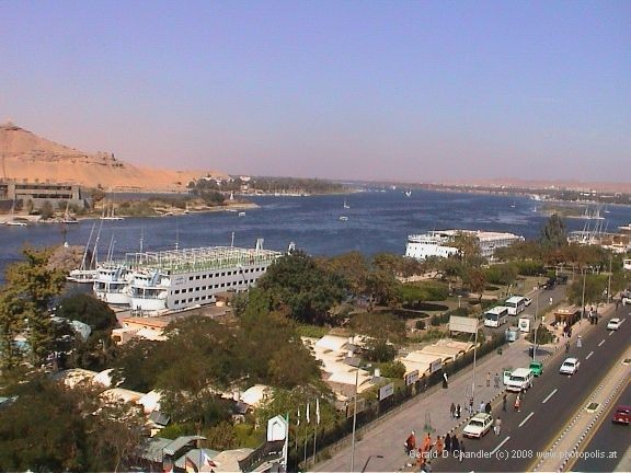 Aswan, Nile River, and Nile Ferry Boats
