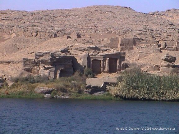 Minor Temples along Nile