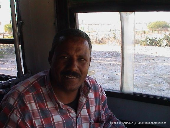 Egyptian Border bus driver