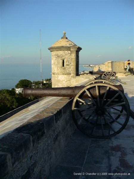 Fort Guarding Campeche