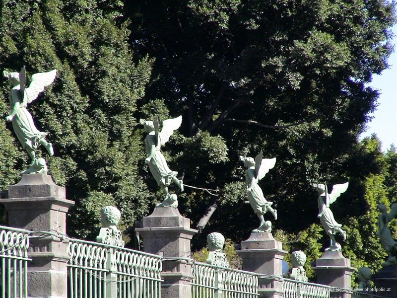 Angels on Cathedral Fence