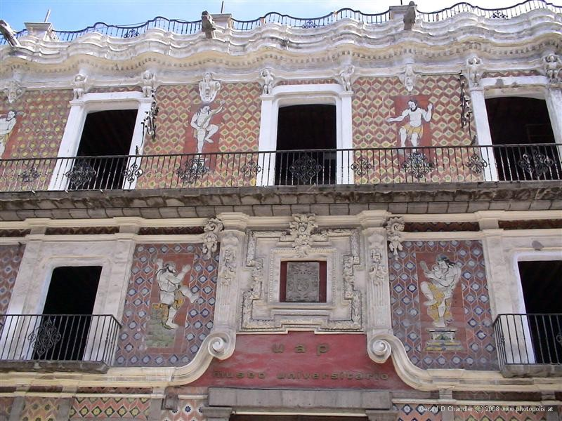 Decorated Colonia home now a museum