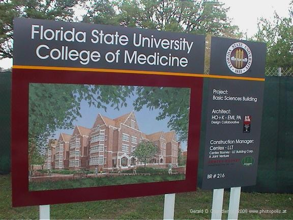 Sign on Florida State University for new College of Medicine