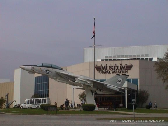 Entry to National Museum of Naval Aviation, Pensacola, FL