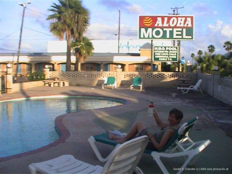 Aloha Motel pool, McAllen, Texas